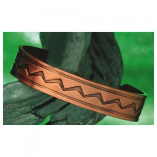 Koperen magneet armband - Indio