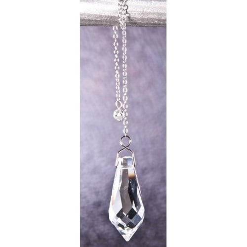 Kristal pendel 37x15mm