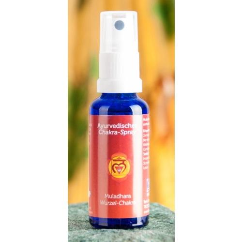 Wortel chakra - Muladhara - Chakra spray
