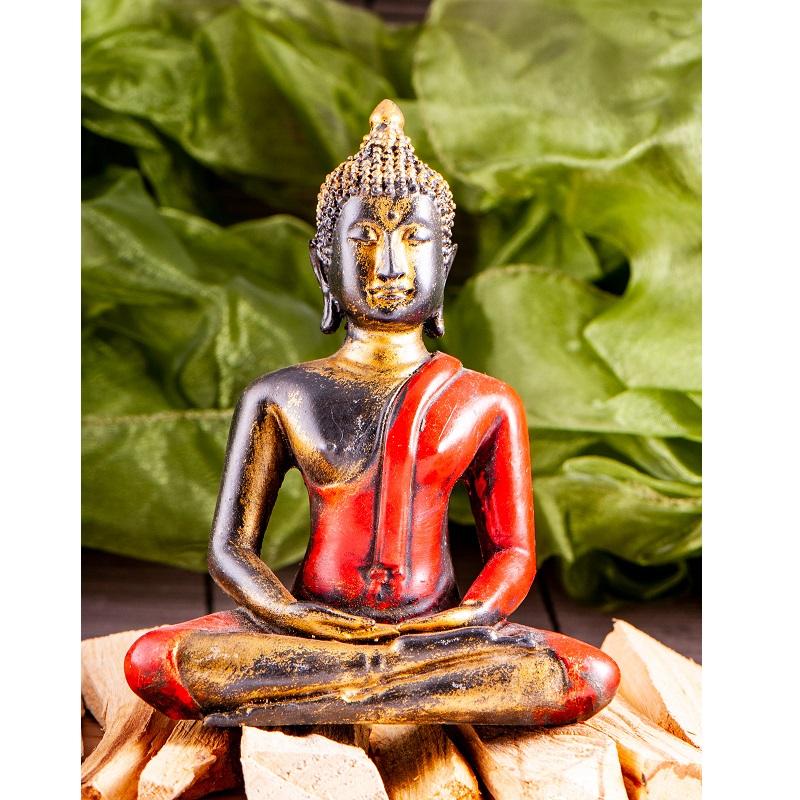 Amitabha Boeddha fiberglass rood