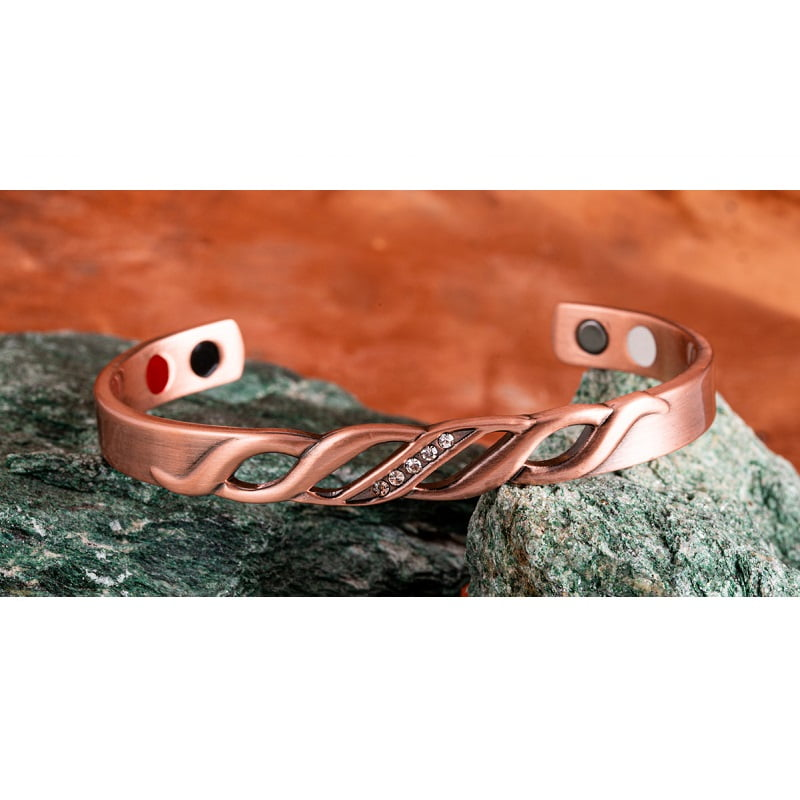Magneet armband Magic 4-in-1 koper
